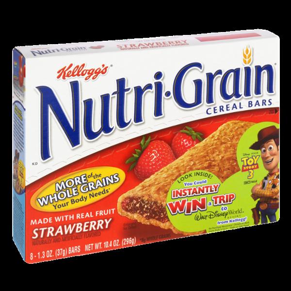 Kellogg's® Nutri-Grain® Cereal Bars Strawberry