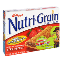 Kellogg's Nutri-Grain Strawberry Cereal Bars