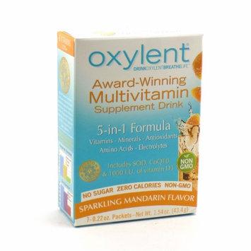 Oxylent - Sparkling Mandarin No Sugar Oxylent 7 Packet