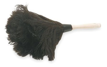 TOUGH GUY 1MYG3 Duster,14 In, Feather