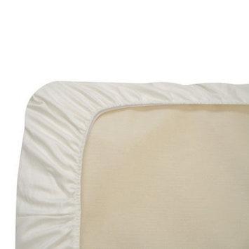 Naturepedic Organic Cotton Fitted Crib Sheet - White