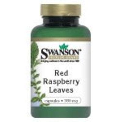Swanson Premium Red Raspberry Leaves 380 mg 100 Caps