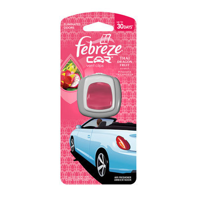 Febreze Car Vents Clips Thai Dragon Fruit Air Freshener (2mL)