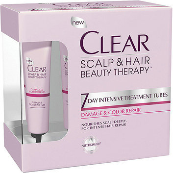 Clear Scalp & Hair Beauty Therapy Damage & Color Repair 7 Days Intensive Treatment Tubes