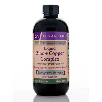 Life Solutions Liquid Zinc + Copper Complex 8oz