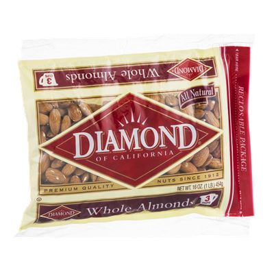 Diamond of California Whole Almonds