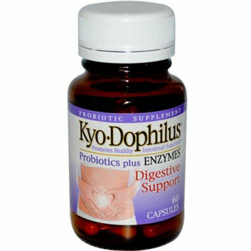 Kyolic Kyo-Dophilus with Enzymes Digestion 60 Capsules