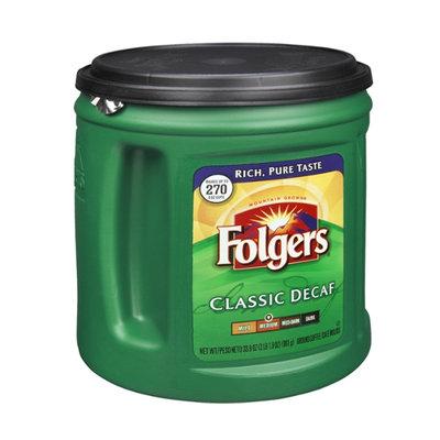 Folgers Mountain Grown Classic Decaf Medium Ground Coffee