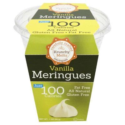 Krunchy Melts 1 oz. Meringues Cup Vanilla Case Of 12