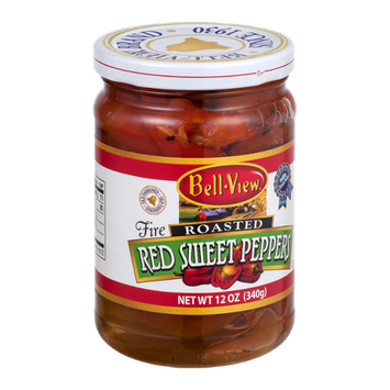 Bell-View Fire Roasted Red Sweet Peppers