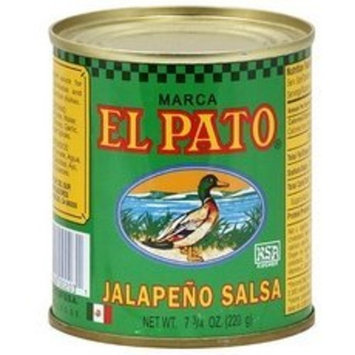 El Pato Jalapenos Salsa, 7.75-Ounce (Pack of 24)