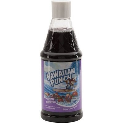 Jarden Consumer Solutions Hawaiian Punch 16 oz Ice Syrup, Berry