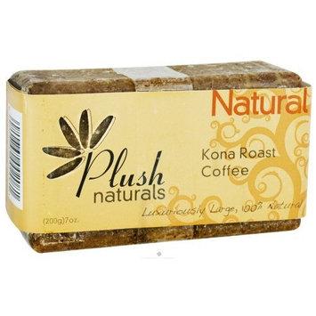 Bar Soap, Kona Roast Coffee - 10/7 oz,(Plush Naturals)