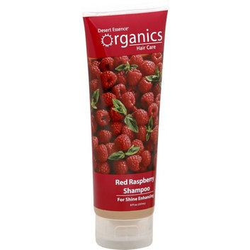 Desert Essence Shampoo Shine for All Hair Types Red Raspberry 8 fl oz