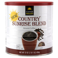 Clover Valley Country Sunrise Blend Ground Coffee  - 33 oz