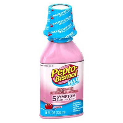 Pepto-Bismol MAX Strength Digestive Relief Cherry - 8.0 fl oz