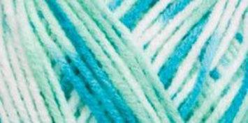 Hrl Red Heart Comfort Yarn-Mints Prints