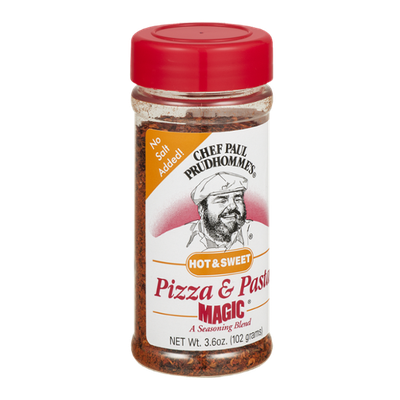 Chef Paul Prudhomme's Pizza & Pasta Magic Seasoning Blend Hot & Sweet