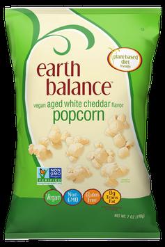 Earth Balance Vegan Popcorn Aged White Cheddar Flavor