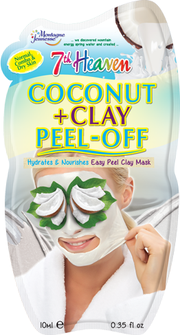 7Th Heaven Coconut + Clay Peel Off Mask