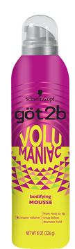 göt2b® Volumaniac™ Bodifying Mousse