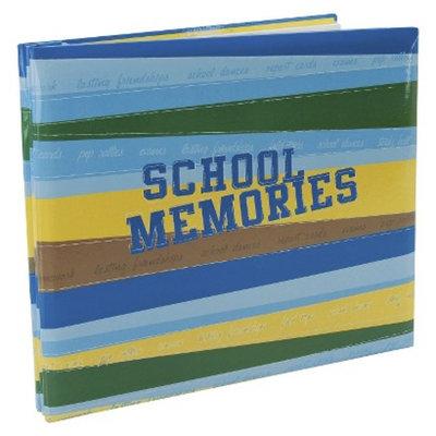 MBI School Memories Postbound Album - Blue/Green (12