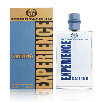Sergio Tacchini Experience Sailing by Sergio Tacchini for Men EDT Spray