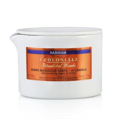 I Coloniali Massage Body Butter Candle