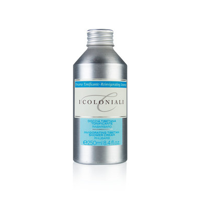I Coloniali Rubharb Revitalizing Tibetan Shower Cream