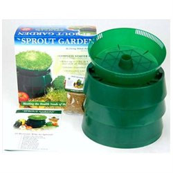 Living Whole Foods Handy Pantry Sprout Garden 3-tray Sprouter