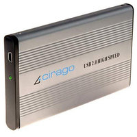 Global Marketing Cirago CST1080R CST1000 Series Portable Storage USB, 80 GB, Recertified Hard Drive