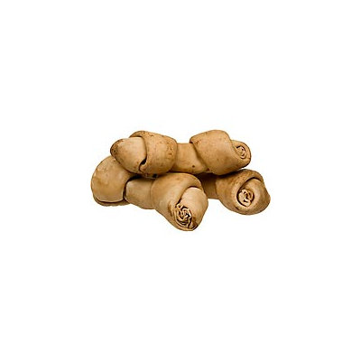 PETCO Peanut Butter Rawhide Bones for Dogs, Pack of 6