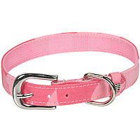 Dickens' Closet Create-a-Collar X-Small 10mm Charm Collar in Pink Camo, X-Small