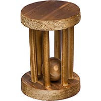 Petco Wood Wheel with Ball Chew Toy (2.75