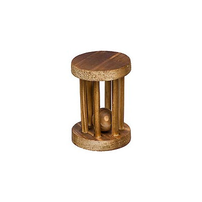 Planet Petco Wood Wheel with Ball Chew Toy (2.75