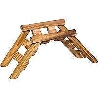 Planet Petco Wood Ladder Bridge Small Animal Chew Toy (7