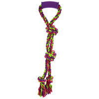PETCO Twin Tug with Handle Rope Dog Toy, Large