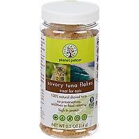 Planet Petco Savory Tuna Flake Cat Treats, .5 oz.