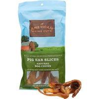 American Prime Cuts Pig Ear Slices Dog Chews, 6 oz.