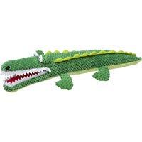 Petco Nubby Green Plush Alligator Dog Toy