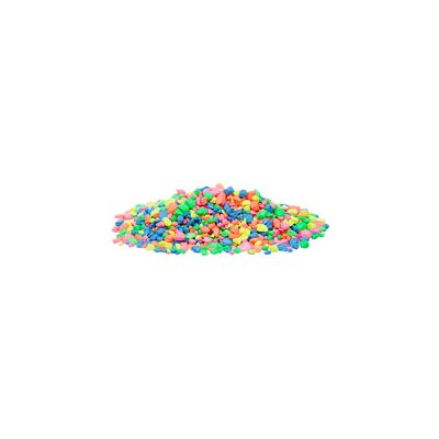 Petco Neon Confetti Mix Aquarium Gravel, 20 lbs.