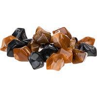 Petco Aquarium Toffee Swirl Stones Gravel Accents