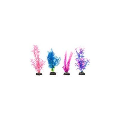 Petco Colorful Plastic Aquarium Plants Foreground Value Pack