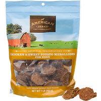 American Jerky Chicken & Sweet Potato Medallions Dog Treats