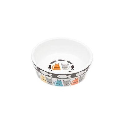 Petco Tough Guys Ceramic Cat Bowl, 8 oz, 1.75 H X 5 D