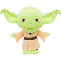 STAR WARS Yoda Plush Dog Toy, 6 L X 8 W