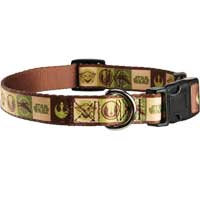 STAR WARS Yoda Adjustable Dog Collar, For Necks 14 -20