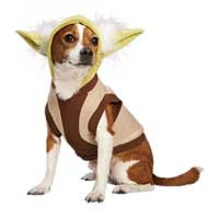 STAR WARS Yoda Dog Hoodie, Small ()
