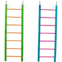 Petco 7 Step Wooden Ladder for All Birds, 11 Height