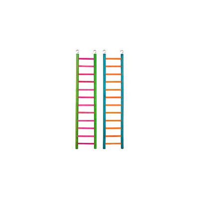 Petco 12 Step Wooden Ladder for All Birds, 23.5 Height